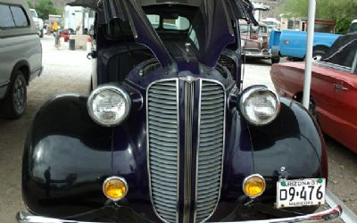 1937 Dodge Brothers D5 4D SD