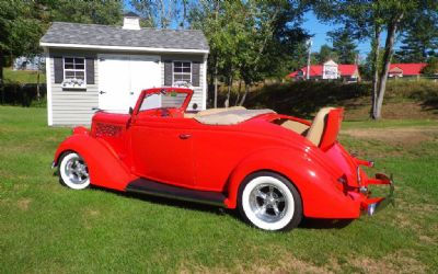1936 Ford Deluxe Cabriolet Hot Rod Convertible