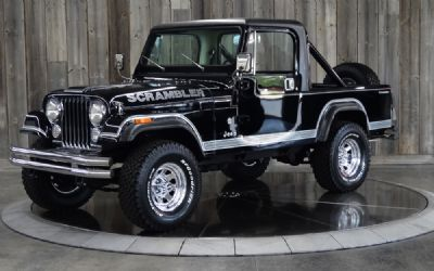 1983 Jeep Scrambler Convertible