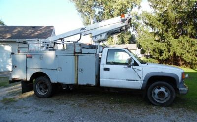 2002 Chevrolet Silverado-3500hd-Bucket-Truck